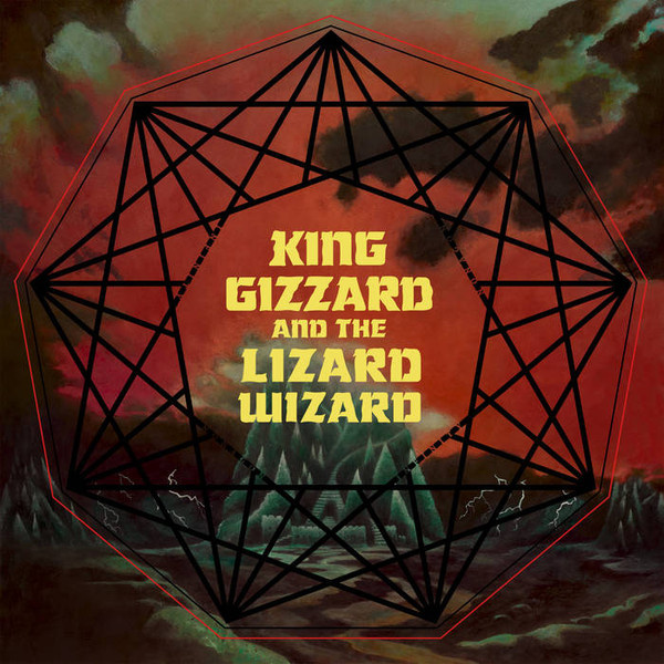 King Gizzard and the Lizard Wizard  - Nonagon Infinty LP  Heavenly Rec.