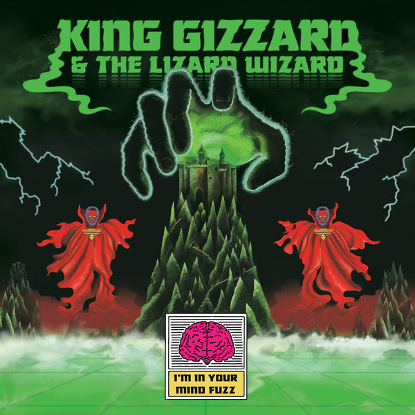 King Gizzard and the Lizard Wizard  - I'm In Your Mind Fuzz LP  Heavenly Rec.