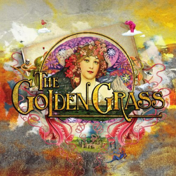 GOLDEN GRASS - Golden Grass LP Svart UUSI