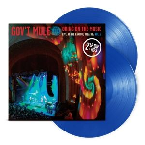 GOV'T MULE - Bring On the Music Vol.2 Blue Vinyls