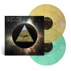 GOV'T MULE - Dark Side of The Mule 2LP LTD BROWN-GREEN MARBLE