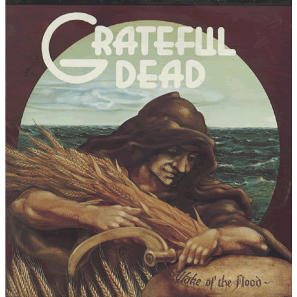 GRATEFUL DEAD - Wake Of The Flood LP UUSI Rhino Records ROCKTOBER-release