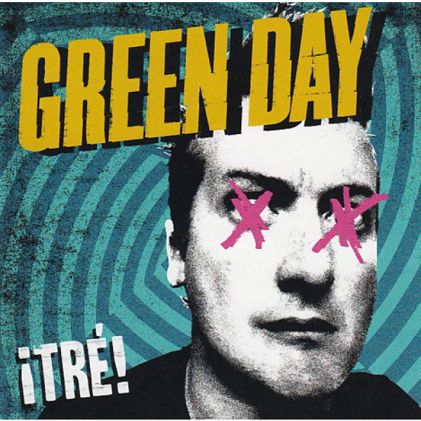 GREEN DAY - Tre LP Reprise UUSI