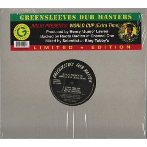 V/A - Junjo Presents: World Cup (Extra Time) LP UUSI Greensleeves