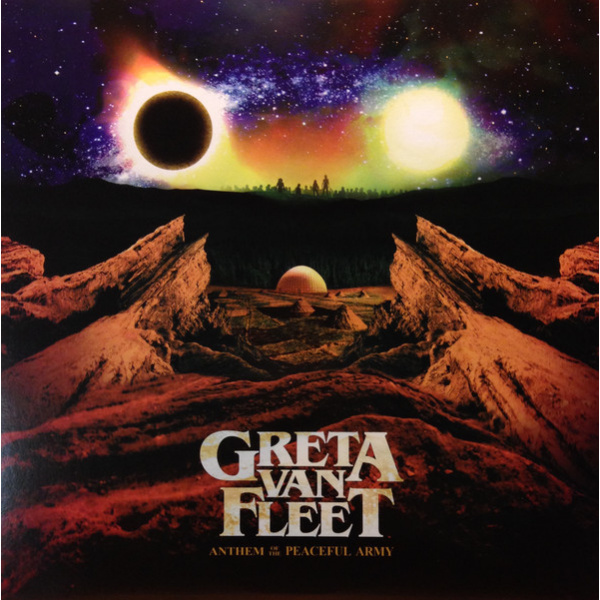 GRETA VAN FLEET - Anthem Of The Peaceful Army LP UUSI Lava/Republic