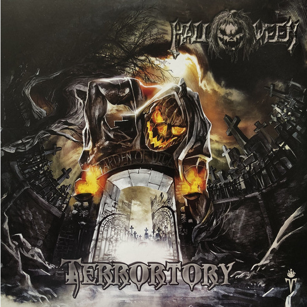 HALLOWEEN - Terrortory 2-LP Pure Steel Records UUSI LTD 333 COPIES