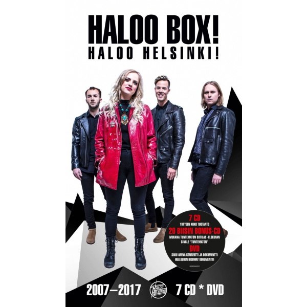 HALOO HELSINKI - Haloo Box! 7CD+DVD