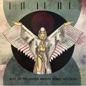 HAWKWIND - Best of the United Artists Years 1971-1974 LP UUSI RSD 2017 LTD 3000 copies GREEN/BLACK SWIRL COLOUR VINYL