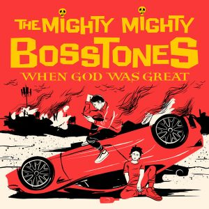 MIGHTY MIGHTY BOSSTONES - When God Was Great  2LP Red vinyl with yellow splatter