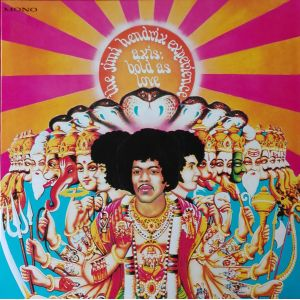 JIMI HENDRIX EXPERIENCE - Axis Bold As Love LP UUSI Sony