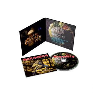 IRON MAIDEN - Piece Of Mind CD Remastered reissue, digipak