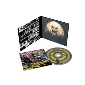 IRON MAIDEN - Number Of The Beast CD Remastered reissue, digipak