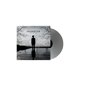 INSOMNIUM - Across the Dark LP Transparent Silver Vinyl