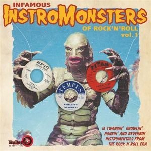 V/A - Infamous Instromonsters of Rock'N'Roll Vol.1 LP UUSI Bullseye/El Toro