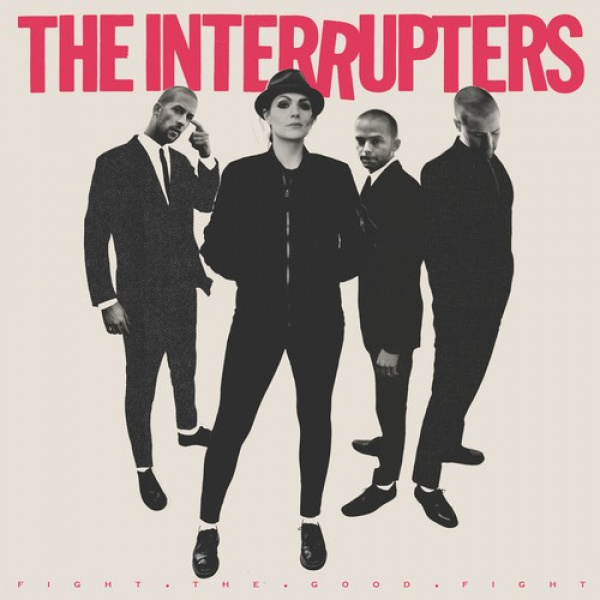 INTERRUPTERS - Fight the Good Fight LP HOT PINK WITH BLACK SPLATTER VINYL