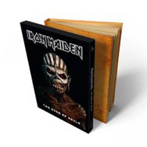 IRON MAIDEN - Book of souls 2CD DELUXE EDITION hardbound book version