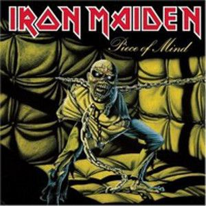 IRON MAIDEN - Piece of Mind LP Parlophone