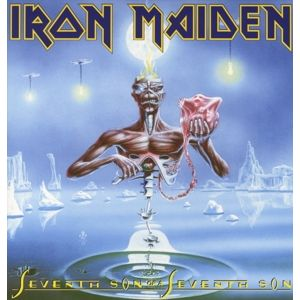 IRON MAIDEN - Seventh Son of a Seventh Son LP Parlophone UUSI 2014 black version