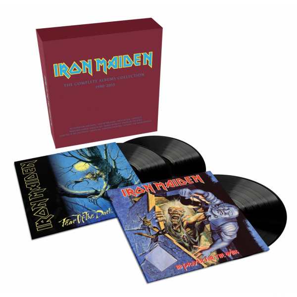 IRON MAIDEN - Collectors box 3LP (Box feat No Prayer For The Dying LP + Fear Of The Dark 2LP)