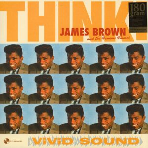 JAMES BROWN - Think LP Pan Am Records UUSI