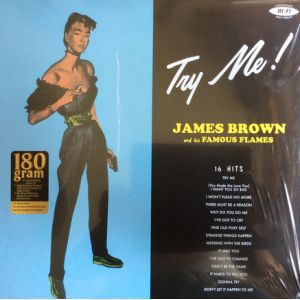 JAMES BROWN - Try Me LP Pan Am Records UUSI