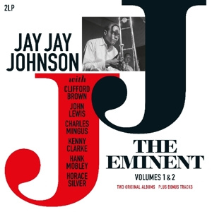 JAY JAY JOHNSON - Eminent Vol. 1 & 2 Ft.Clifford Brown/Mingus/Hank Mobley 2LP UUSI Vinyl Passion