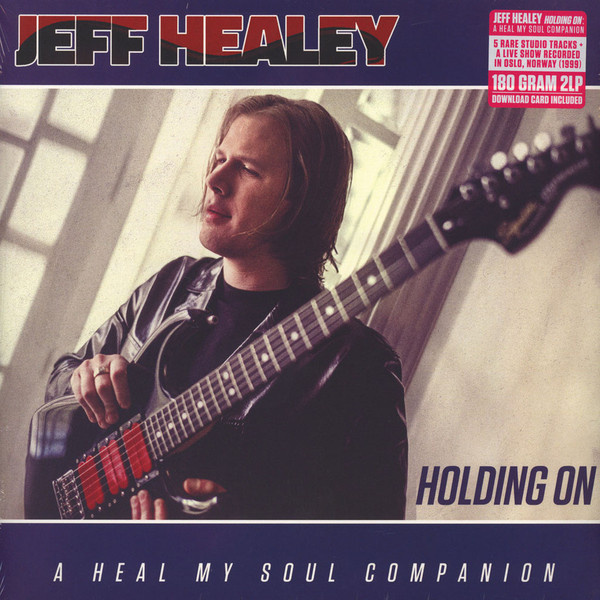 JEFF HEALEY - Holding On 2LP Provogue UUSI