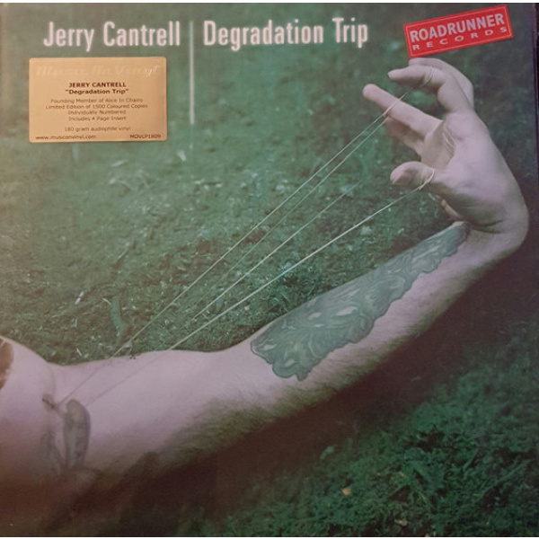 JERRY CANTRELL - Degradation Trip 2LP Music On Vinyl LTD 1500 COLOUR VINYLS