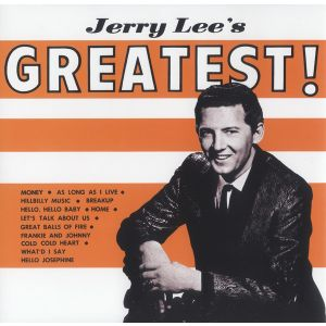 JERRY LEE LEWIS - Greatest LP Rumble Records UUSI