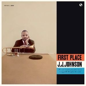 J.J. JOHNSON - First Place LP UUSI Spiral Records