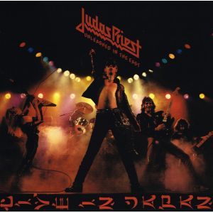 JUDAS PRIEST - Unleashed In The East LP UUSI Sony 2017 We Are Vinyl