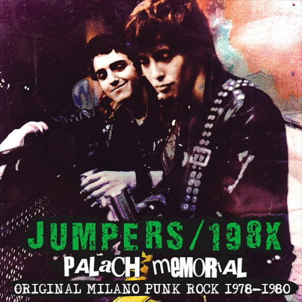 JUMPERS / 198X - Palach Memorial 1978-1980 LP Rave Up (TARJOUS)