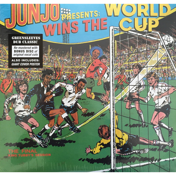 JUNJO -  Wins The World Cup (The Final King Tubby's Session) 2LP Greensleeves Records ‎