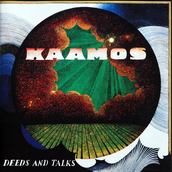 KAAMOS - Deeds And Talks LP Svart BLACK M/M