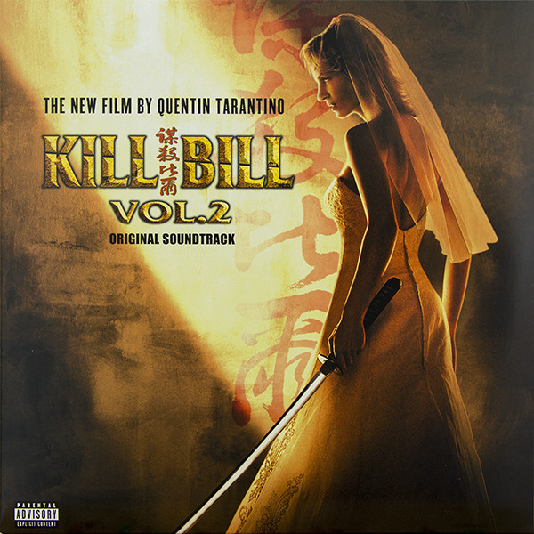 SOUNDTRACK - Kill Bill Vol.2 LP UUSI Warner