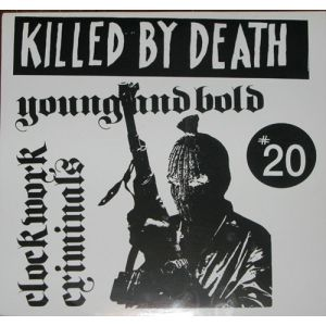 V/A - Killed by death 20 LP Redrum LTD PINK VINYL EX/EX