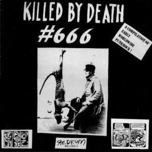 V/A - Killed By Death - Rare Punk vol.666 LP Redrum