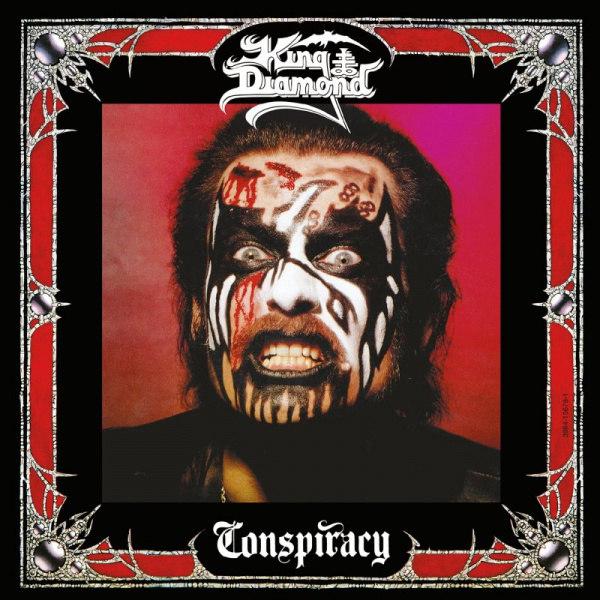 KING DIAMOND- Conspiracy LP LTD OPAQUE CHERRY RED VINYL Metal Blade