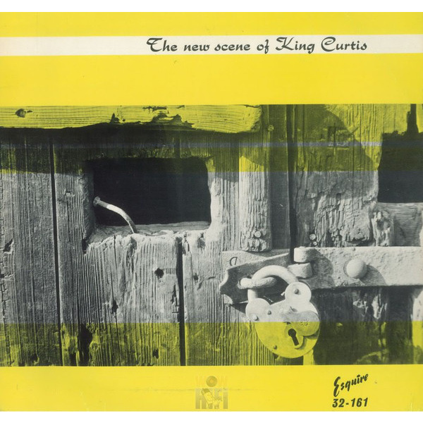 KING CURTIS - The new scene of King Curtis LP Doxy UUSI