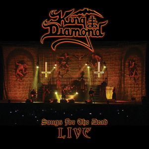 KING DIAMOND - Songs For The Dead Live 2LP UUSI Metal Blade LTD 500 CLEAR GHOST WHITE Vinyls