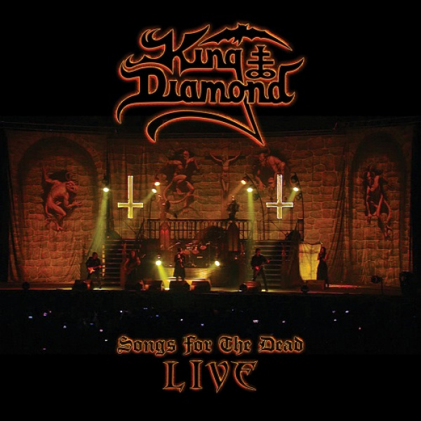 KING DIAMOND - Songs From the Dead Live CD+2DVD