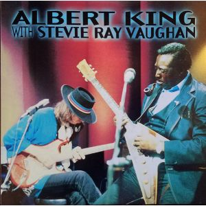 ALBERT KING WITH STEVIE RAY VAUGHAN - IN SESSION LP UUSI Stax