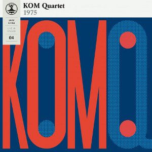 KOM QUARTET - Jazz-Liisa 4 LP BLACK VINYL Svart Records
