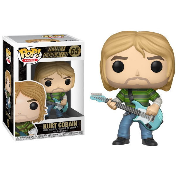 FUNKO POP! ROCKS - Kurt Cobain #65