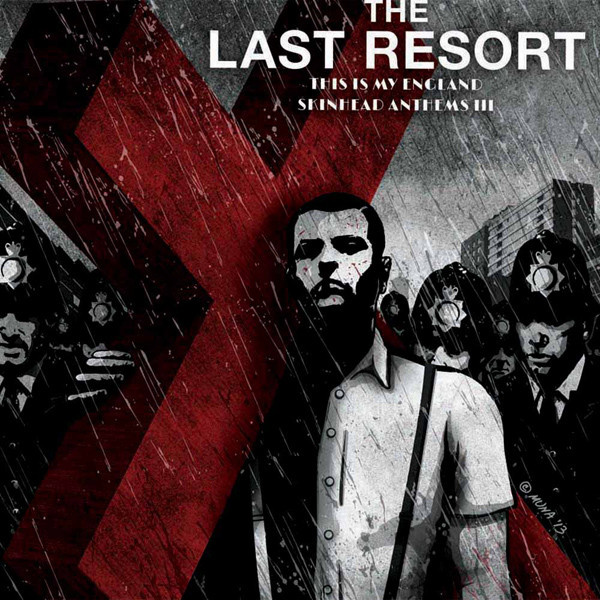 LAST RESORT - This is my England Skinhead Anthems III LP Randale UUSI