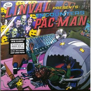 LINVAL - Encounters Pac-Man 2LP Greensleeves Records