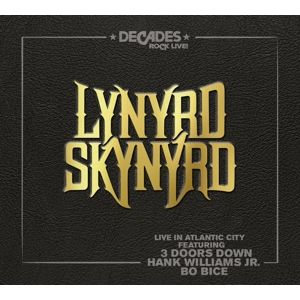 LYNYRD SKYNYRD - Live In Atlantic City 2LP UUSI Earmusic