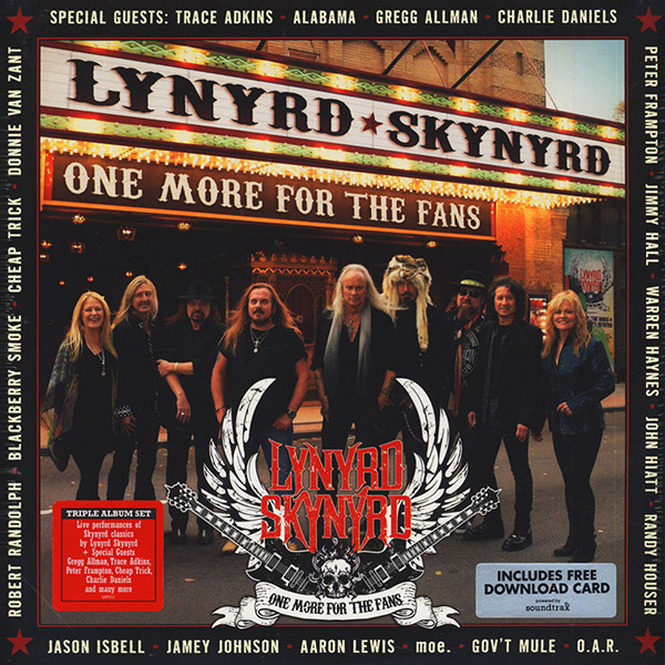 LYNYRD SKYNYRD - One More for the Fans 3LP  Loud & Proud Records