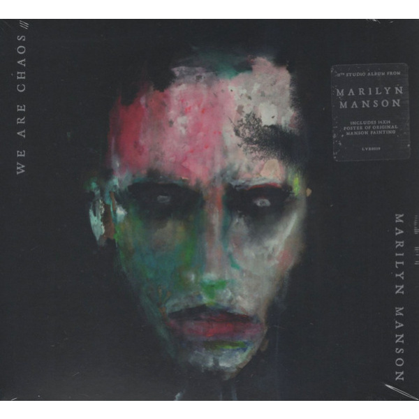 MARILYN MANSON - We Are Chaos LP LTD RED VINYL
