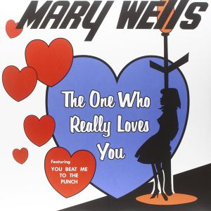 MARY WELLS - The one who really loves you LP Rumble Records UUSI